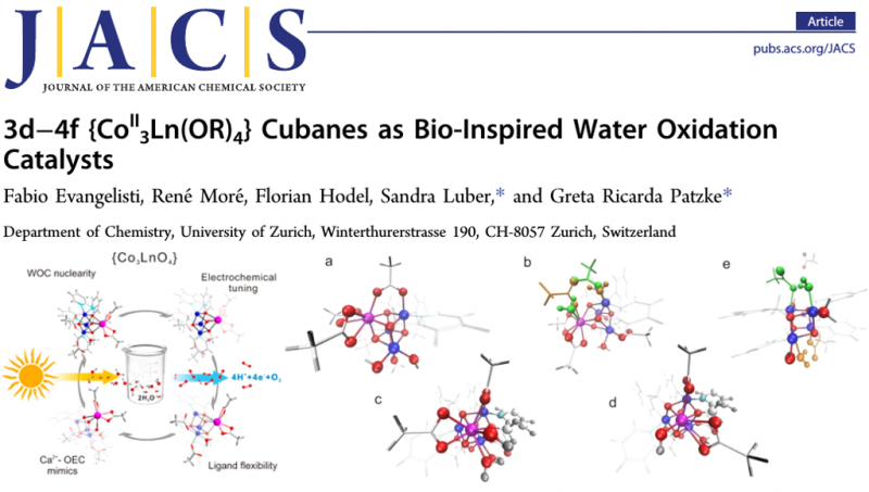 Cubanes as Bio-Inspired Water Oxidation Catalysts